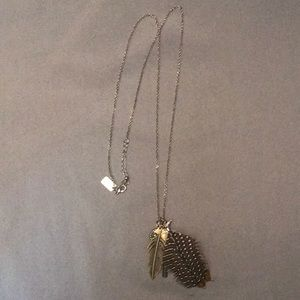 Two American Eagle necklaces